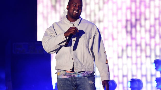 """A lawsuit says Kanye West fraudulently promised fans that his album """"The Life of Pablo"""" would only be available on Tidal. The site charges users at least $9.99 a month, but West's album has since been released for free on Apple Music and Spotify."""