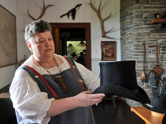 Pam Neil, chief of interpretation at Grand Portage