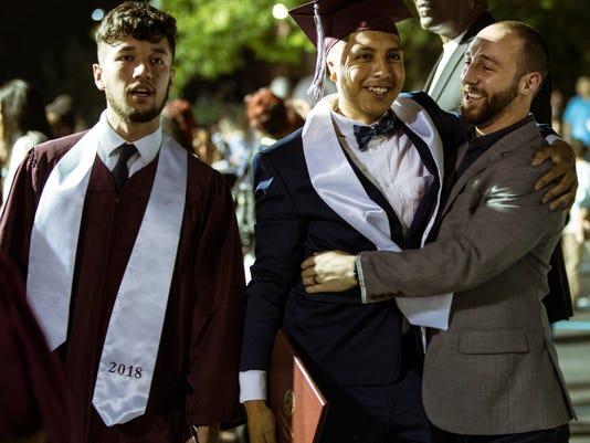 Kingsbury High School graduation