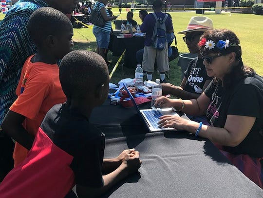 Shelby County Schools held a back-to-school block party