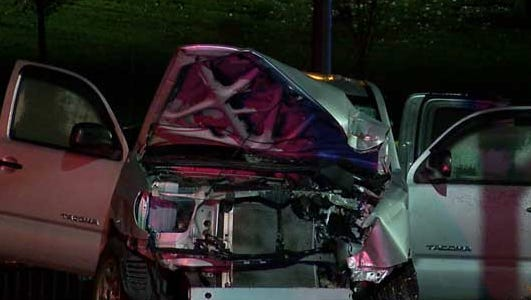 The driver was killed in a crash near University of Cincinnati late Wednesday.