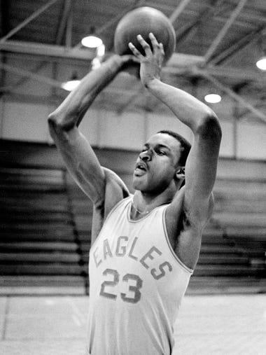 Tyrus Baynham of Nashville East (1980-83)