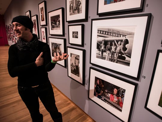 Gruen talks about a photograph his father, famed rock