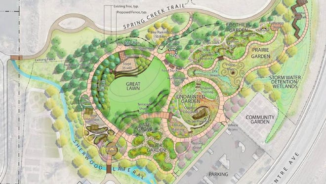 Gardens on Spring Creek is moving forward with its expansion plans.
