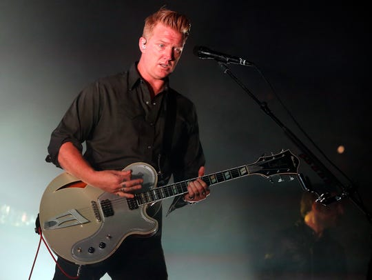 Queens of the Stone Age (including Josh Homme) will