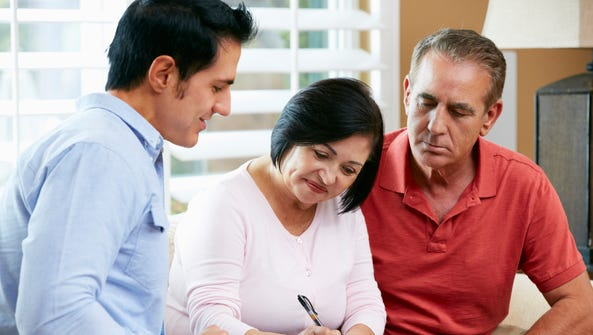 A financial advisor is recommended for estate planning.