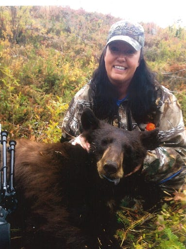 Lisa Kinser got this black bear on Sept. 15 for northwest