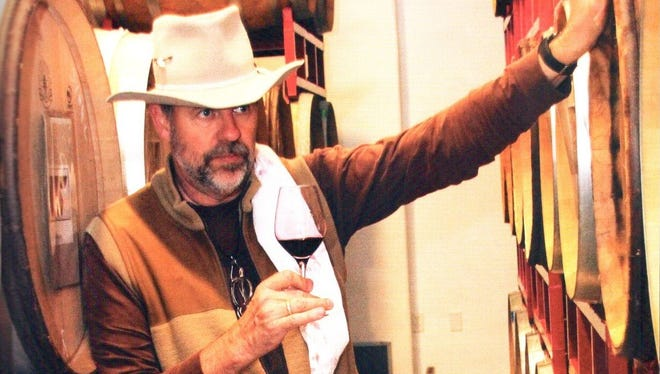 Manfred Krankl is winemaker and co-owner of Sine Qua Non, a winery in the Ojai Valley.