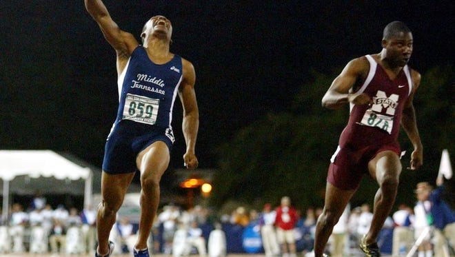 Former MTSU track standout Mardy Scales (left) will be one of four inductees on Saturday.