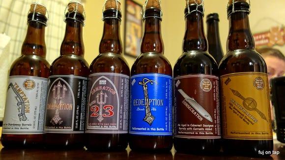 Russian River beers.