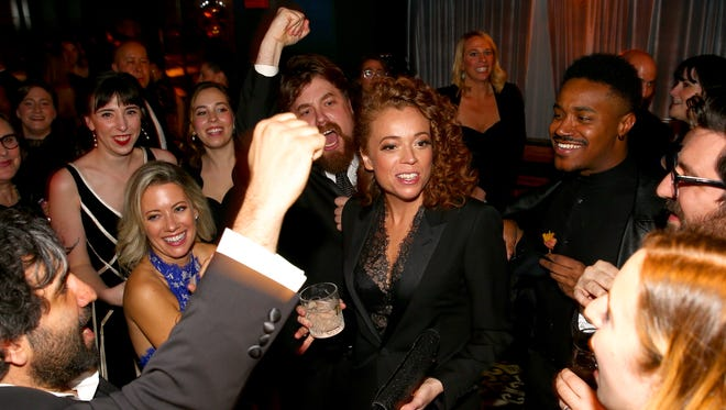 Comedian Michelle Wolf attends the celebration After the White House Correspondents' Dinner on Saturday in Washington, D.C.