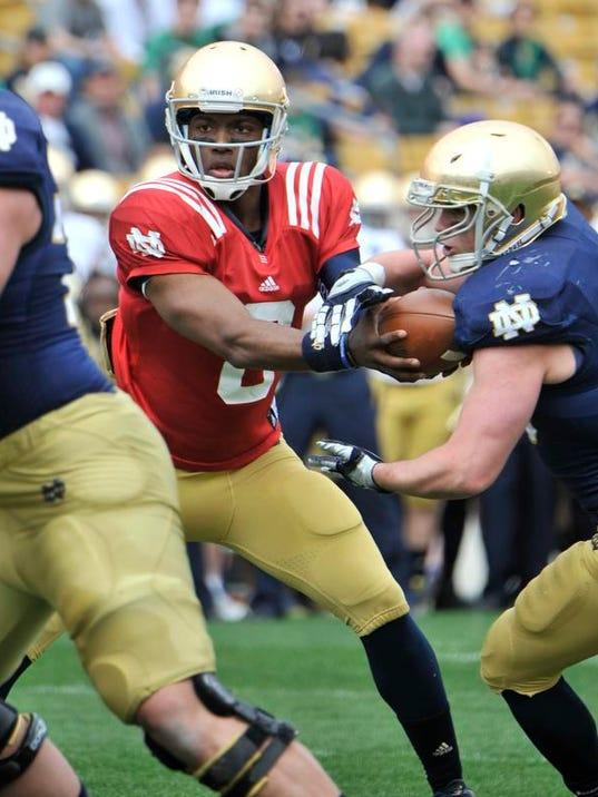 NCAA Notre Dame Spring Game