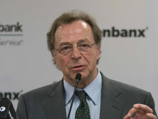 Arkadi Kuhlmann, CEO of Zenbanx and founder of ING Direct, announces the launch of Zenbanx, an online bank offering a digital-only multi-currency savings in 2012.