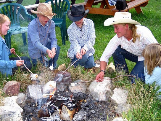 Outfitting Business Dude Ranch Is A Year Round Job