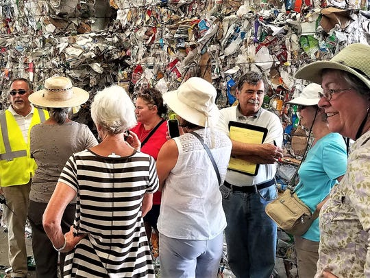 Big Bend Sierra has arranged for an educational trip to the Marpan recycling center from 9-10:30 a.m. Wednesday.