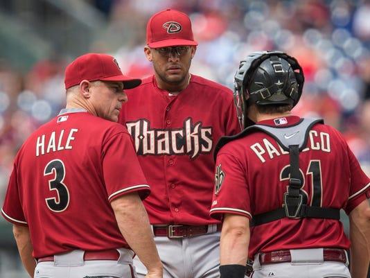 Chip Hale, Jordan Pacheco, Randall Delgado