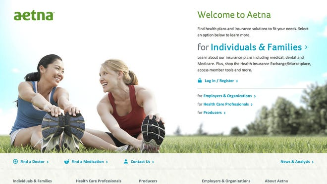 Aetna's website.