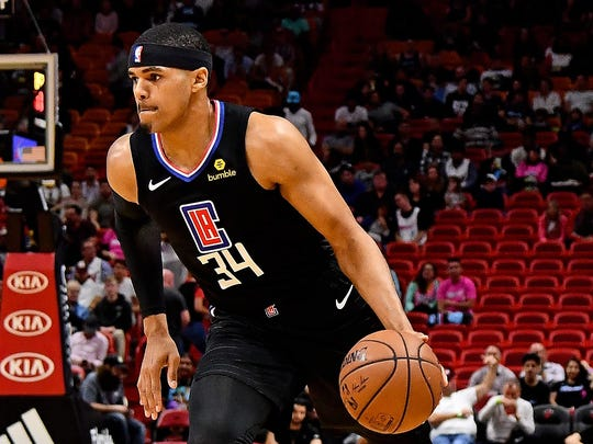 USP NBA: LOS ANGELES CLIPPERS AT MIAMI HEAT S BKN MIA LAC USA FL
