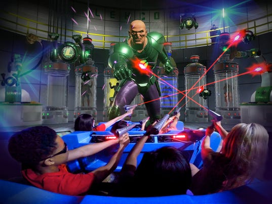 Justice League Ride Coming To Great Adventure