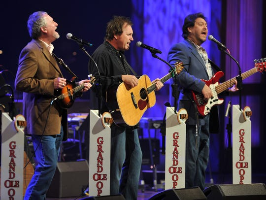 Diamond Rio performs on the Grand Ole Opry.