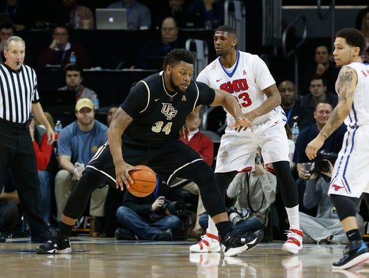 NCAA Basketball: Central Florida at Southern Methodist