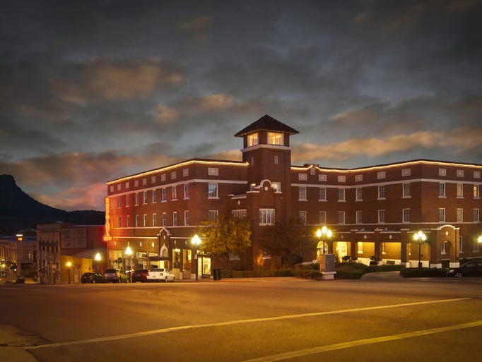 The Hassayampa Inn in Prescott was designed by architect