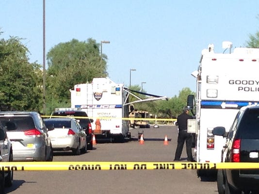 Goodyear SWAT Scene