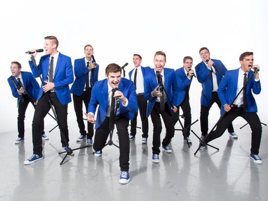 Brigham Young University's a cappella group Vocal Point will perform March 19 at Tuacahn Amphitheatre in Ivins City. Submitted BYU Photo