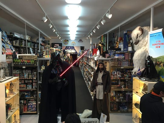 """This is just the first wing of Rancho Obi-Wan, the world's largest """"Star Wars"""" collection, housed in Petaluma, Calif."""
