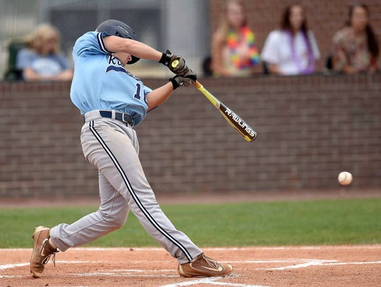 Ridgeland's Brooks Italiano has a .356 batting average headed into the Titans' series against Lewisburg in the 5A North State Championship.