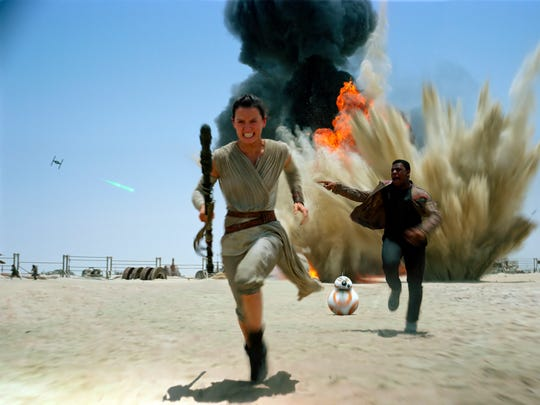 'Star Wars: The Force Awakens,' with Daisy Ridley,