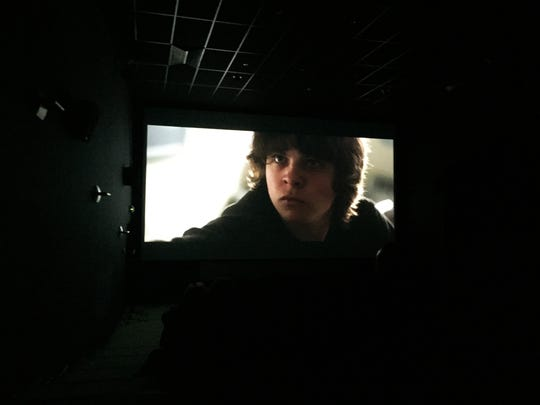 "Inside a screening of O'Donnell's short film ""Wolff's Law."""
