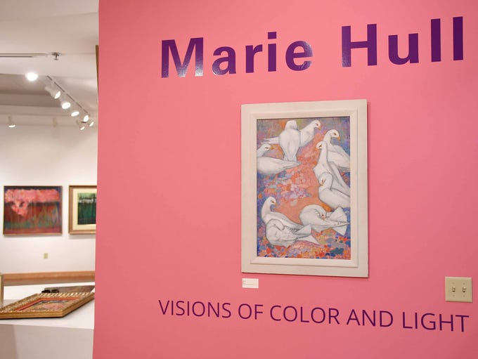 "The exhibit ""Marie Hull: Visions of Color and Light"""