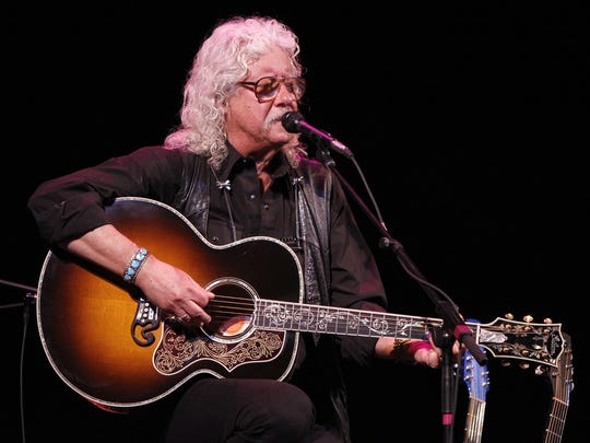 Arlo Guthrie will perform at 7 p.m. Sunday at The Sunrise Theatre in Fort Pierce.