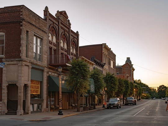 Main Street in downtown Wabash