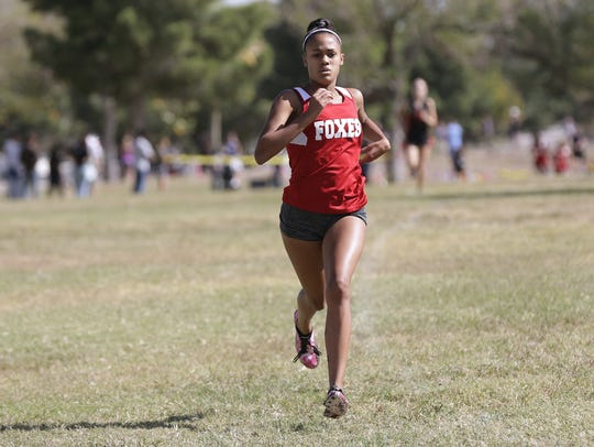 Jefferson's Brooke Woodson finishes way out in front