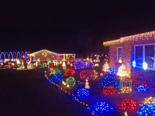 Where To See Christmas Lights.York County Pa Christmas Lights Map 2017 Where To See