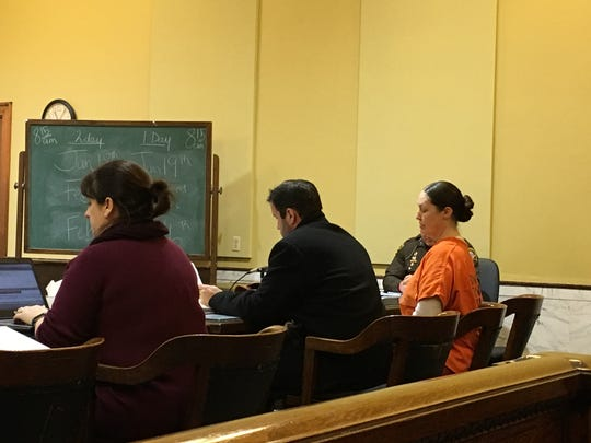 Roni C. Anderson appeared Monday in Brown County Circuit Court for a final pretrial hearing. Anderson is accused in the September 2015 murder of 89-year-old Harold Ambrosius.