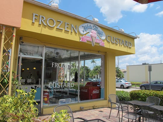 Kohr's Family Frozen Custard shop closed in April on Fifth Avenue South in Naples.