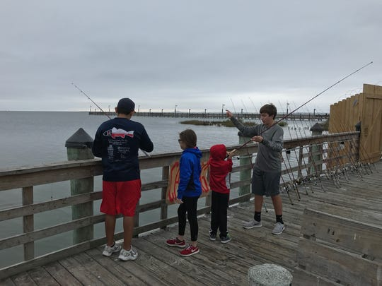 About 50 children participated in December's Kid Fish event hosted the Ray High School Texan Anglers.