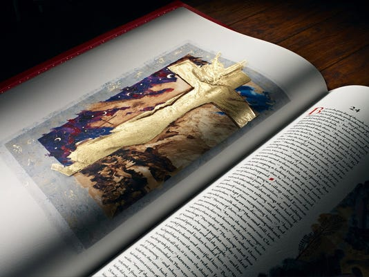 The art of illumination: A modern Bible uses medieval techniques