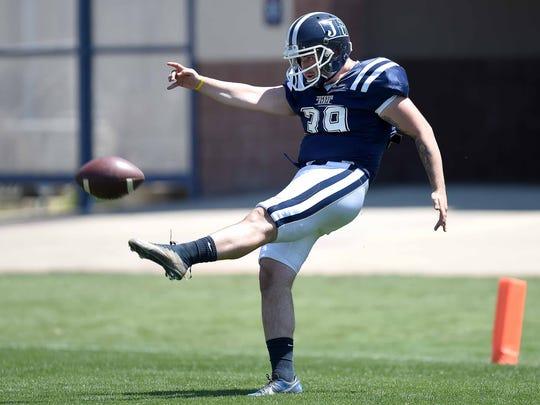 Christian, the older of the two Jacquemin brothers, will start at punter for Jackson State this fall.