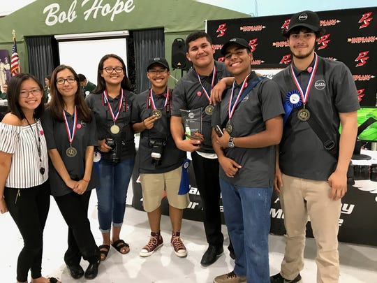 The Digital Arts Technology Academy of Cathedral City High School took home first place.