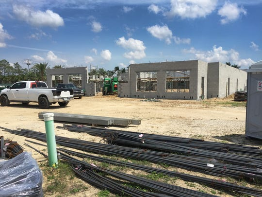 Work for the center is well underway, with this photo shot on May 12, and opening projected for January 2018. A new 23,000 sq. ft. medical facility is under construction for NCH along Collier Blvd., just north of Grand Lely Drive.