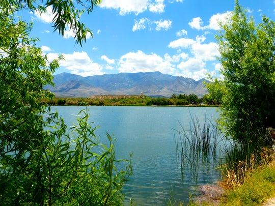 Dankworth Pond is a sub-unit of Roper Lake State Park.