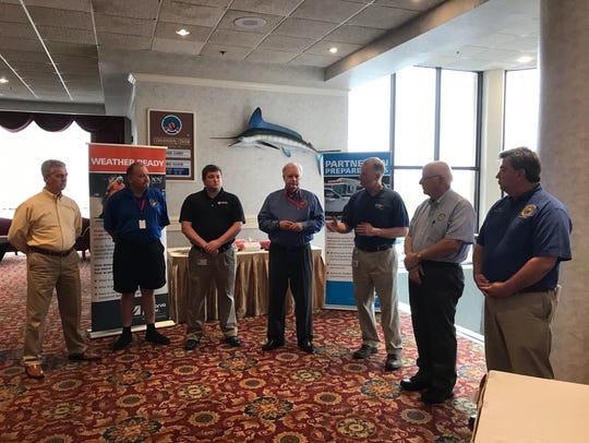 Speakers at the Delmarva Power Summer Readiness Preparedness