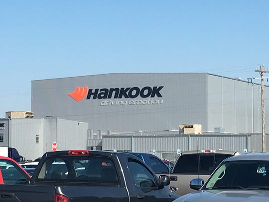Hankook Tire's new Clarksville plant is ramping up
