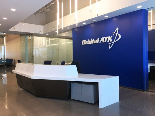 Orbital ATK Gilbert aerospace manufacturer
