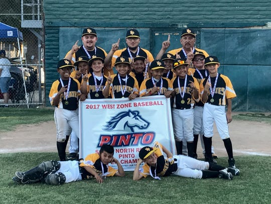 The 8U Ventura Pirates Pinto team finished in the top