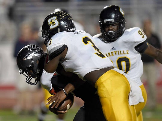 Willie Gay (3) was committed to Ole Miss for a few months, but eventually signed with MSU.